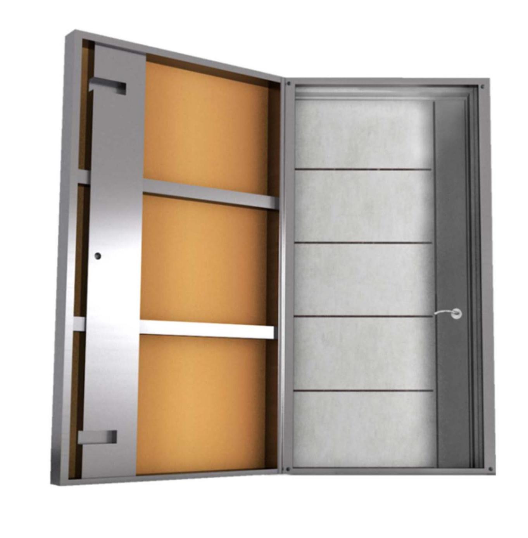 La puerta de seguridad antiokupa de Sekdoor está hecha de acero de 3/2 mm y es de fácil y rápida instalación. La amenaza okupa dejará de serlo gracias a la fiabilidad de esta puerta de alta calidad.